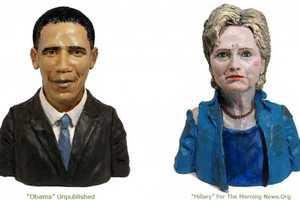 Karen Caldicott Commemorates Iconic Public Figures Using Clay
