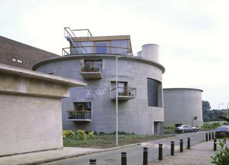 Contaminated Cribs - Architect Firm Dick van Gameren Converts a Sewage Plant into a Home