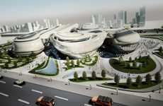 Futuristic Historical Hubs