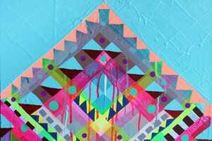 These Neon Paintings by Maya Hayuk are Eye-Catching