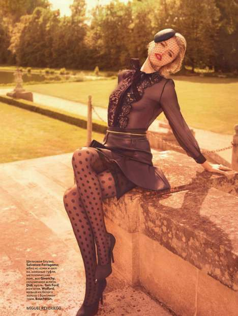 Hailey Clauson August 2011 Vogue Russia
