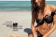 Oil-Clad Bikini Babes