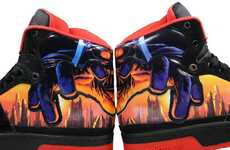 Vibrant Villainous Shoes