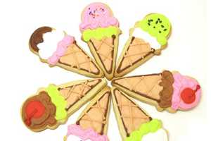 The Ice Cream Cone Cookies Will Melt in Your Mouth & Not On Your Outfit