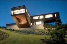 Elevated Peninsula Pads - The Cape Schanck House Capitalizes off Angular Views of Australiaof