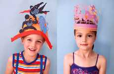 The Whimsical Stuart McLachlan Children's Paper Styling Hats