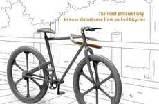 Steerable Bike Locks - Sang Min Yu's Handlebar Bike Lock Immobilizes and Protects Your Two-Wheeler