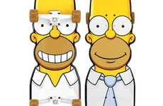 Springfield Skate Decks - The Santa Cruz The Simpsons Cruiser Skateboards Let You Shred like Bart