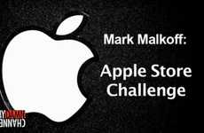 Ridiculous Retailer Stunts - The Mark Malkoff Apple Store Challenge Tests the Limits