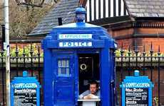 Time-Traveling Coffee Shops - The TARDIS Cafe is Inspired by the Show 'Doctor Who'