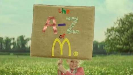 Fast Food Rehab Commercials - The McDonald's 'A to Z Campaign' Does Damage Control