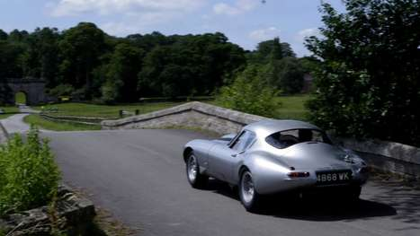 Classic Retro Concept Cars - The Jaguar E Type 1964 is 47 Years in the Making and Magnificent