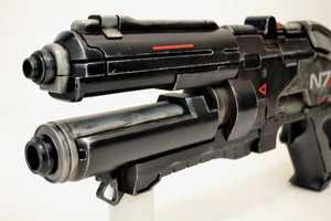 Harrison Krix Recreates the N7 Rifle from 'Mass Effect 3'