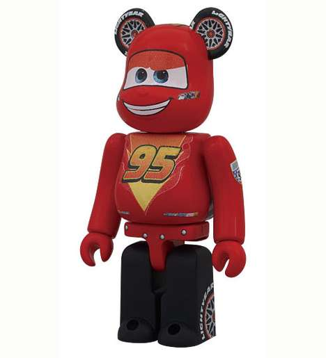 Medicom Toy x Cars 2 Bearbricks