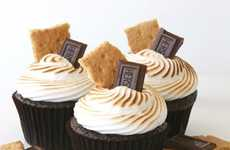 The Chocolate Smores Cupcake Offers the Best of Both Desserts