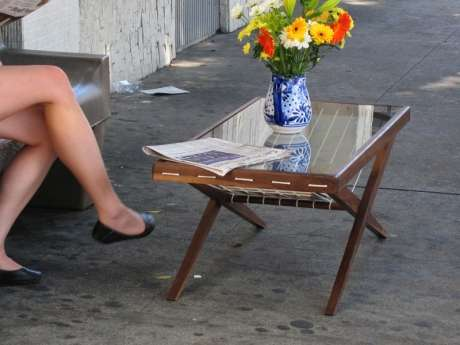 Bus Stop Coffee Table