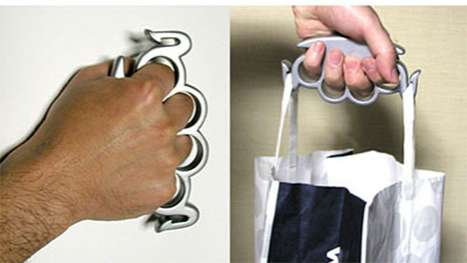 Grocery Bag Brass Knuckles