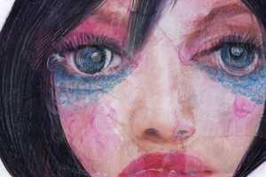 Takahiro Kimura's 'lD-Women' Fine Art Illustrations are Alluring