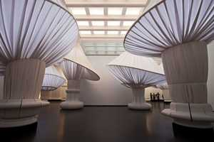 The reOrder Installation Shows the Scale of the Brooklyn Museum's Entrance