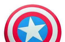 The Captain America Shield Replica Flys from the Screen to Your Hands