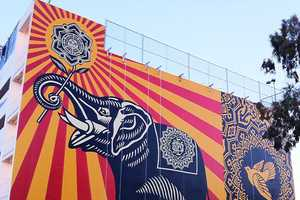The Peace Elephant Mural Dazzles in Size and Color