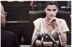 The Donna Karan Fall 2011 Ads Target Women Who Mean Business