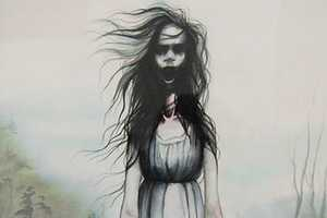 These Annie Owens Illustrations Evoke Villainesses from Scary Movies