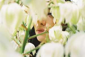 Lucasz Wierzbowski's Nature Photos Use Masks Made from Blossoms