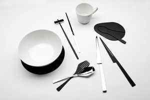 Kijtanes Kajornrattanadech Designs Illusionary Tableware