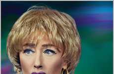 Groundbreaking Cosmetics Collaborations - The Cindy Sherman for MAC Collection is Shocking