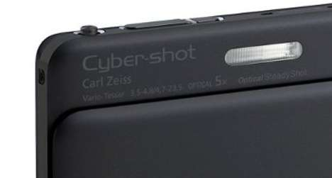 Superbly Skinny Cameras - The Sony Cybershot TX55 Embodies Today's Most Cutting-Edge Technologies