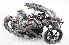 Snarling Monster Choppers