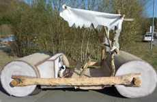 The Flintstone Car Replica is Up for Sale