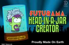 The Futurama Head-In-A-Jar App Lets You Create a Museum of Jarred Heads