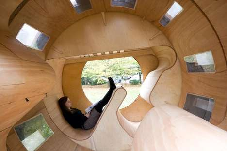 Revolving Cylindrical Abodes - The 'Roll It' Experimental House Offers a Fresh Take on Modern Homes
