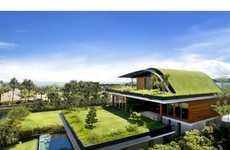 From Arched Eco Houses to Soccer Star Eco Abodes