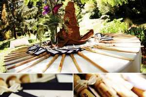 Potterheads Have a Magical Harry Potter Wedding