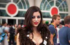 Daring Comic Con Costumes - This Hot Chewbacca Costume Proves That Dressing Up isn't Only for Kids