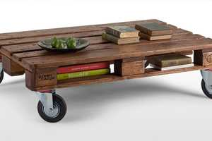The Legion Pallet Table Gives New Life to Old Transport Structures