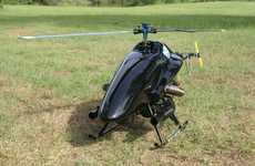 The ShadowHawk is an RC Helicopter That Fights Criminals