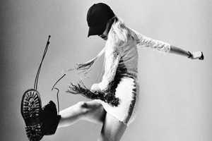 This Sasha Melnychuk Fashion Gone Rogue Shoot Goes Grunge
