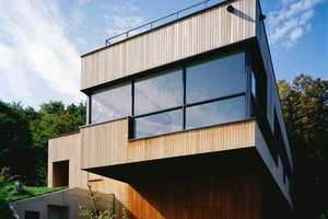 The 'K' House by 3LHD Architects Favors an Eco Exterior