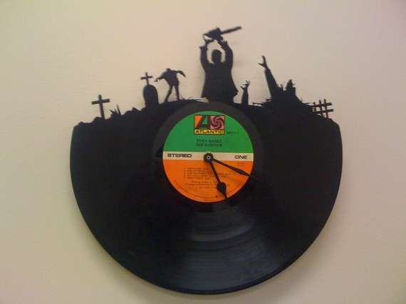 Ghoulish Vinyl Timepieces