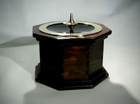 electromagnetic spinning top