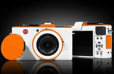 Custom Tangerine Cameras - The ColorWare Leica D-Lux 5 Lets You Have the Say in its Design
