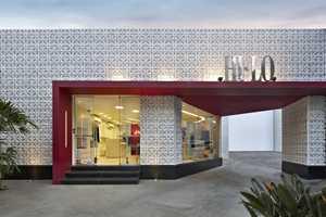 The David Guerra Hi-Lo Store is Rocks Ravishing Red Throughout