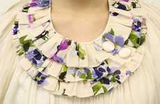 Floral Bib Fascinators