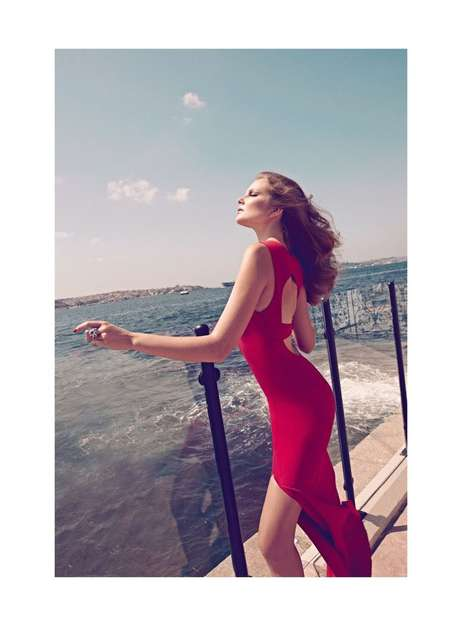 Eniko Mihalik August 2011 Harpers Bazaar Turkey
