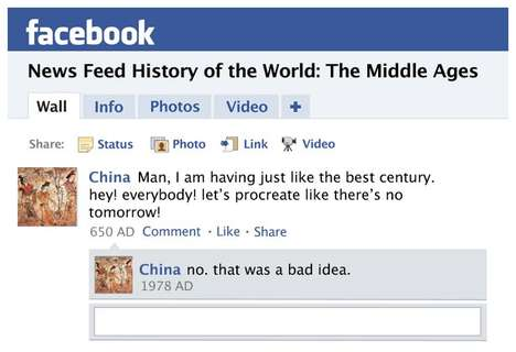 Middle Ages Facebook News Feed