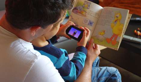 Augmented Reality Fairytales - QR Code Storybooks Are the Way of the Future